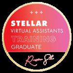 Stellar Virtual Assistants Training Graduate